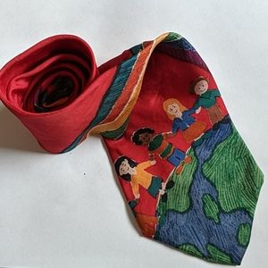 Save the Children - Peace on Earth Men's Tie